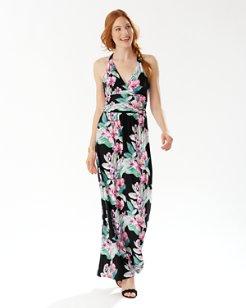 Maria Mambo Tambour Maxi Dress