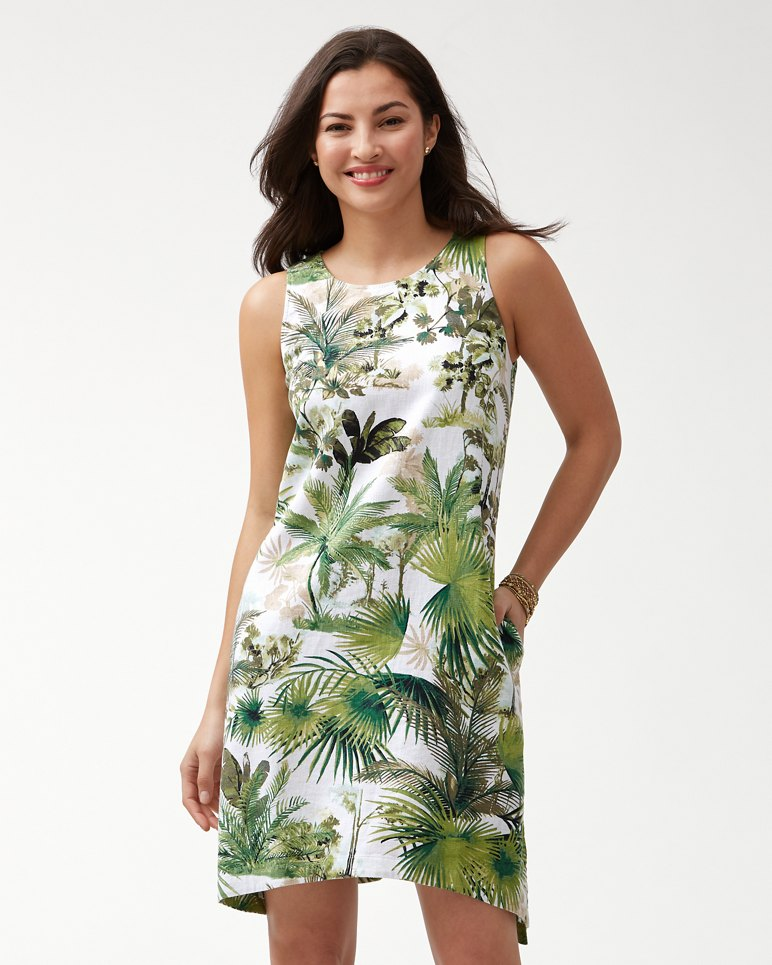 Main Image for Forte Dei Tommy Linen-Blend Shift Dress
