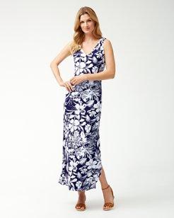 Buona Sera Tambour Maxi Dress
