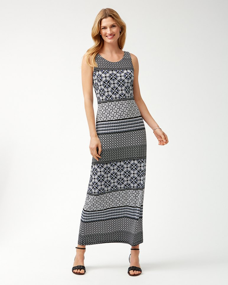 Main Image for Tropical Terrazza Maxi Dress