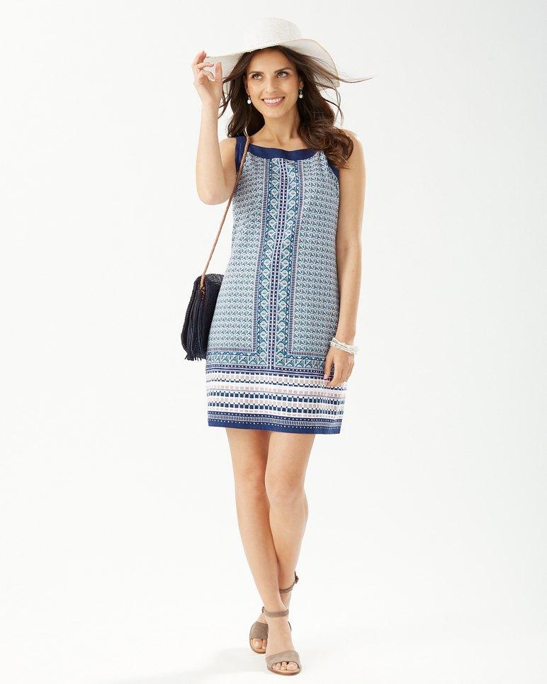 Main Image for Geo Mesa Shift Dress