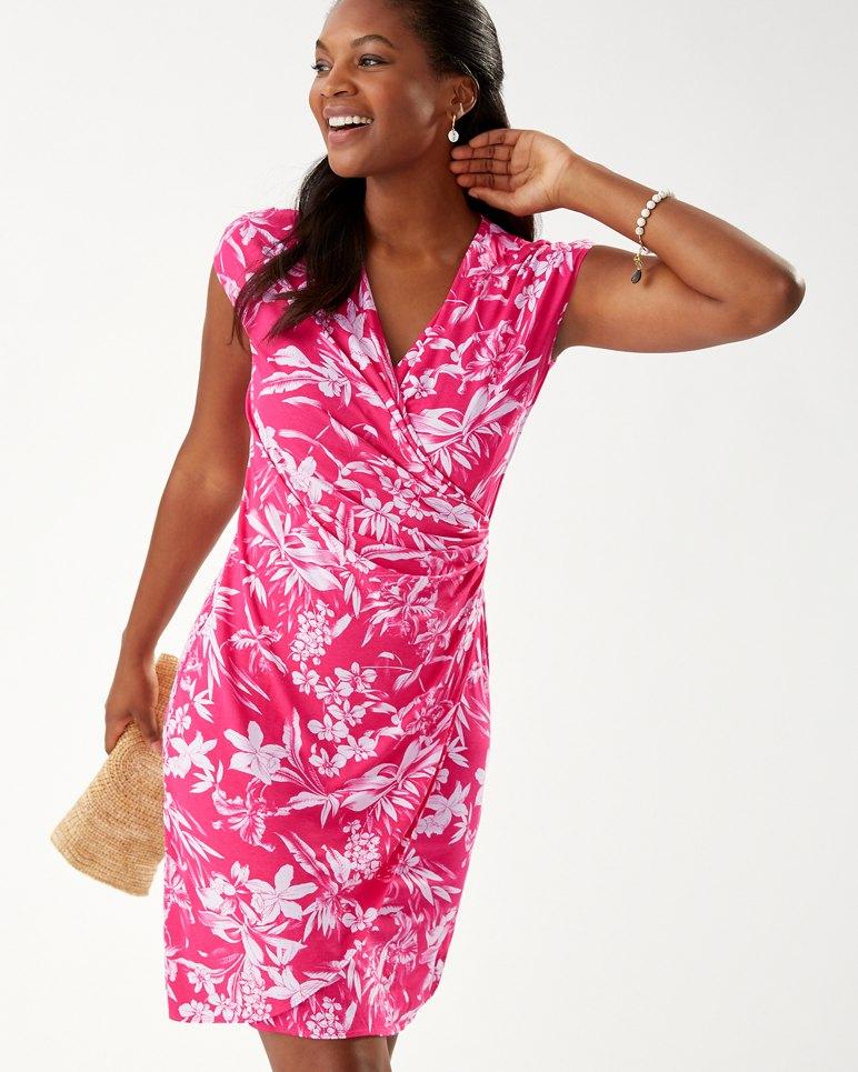 Main Image for Floriana Tambour Wrap Dress