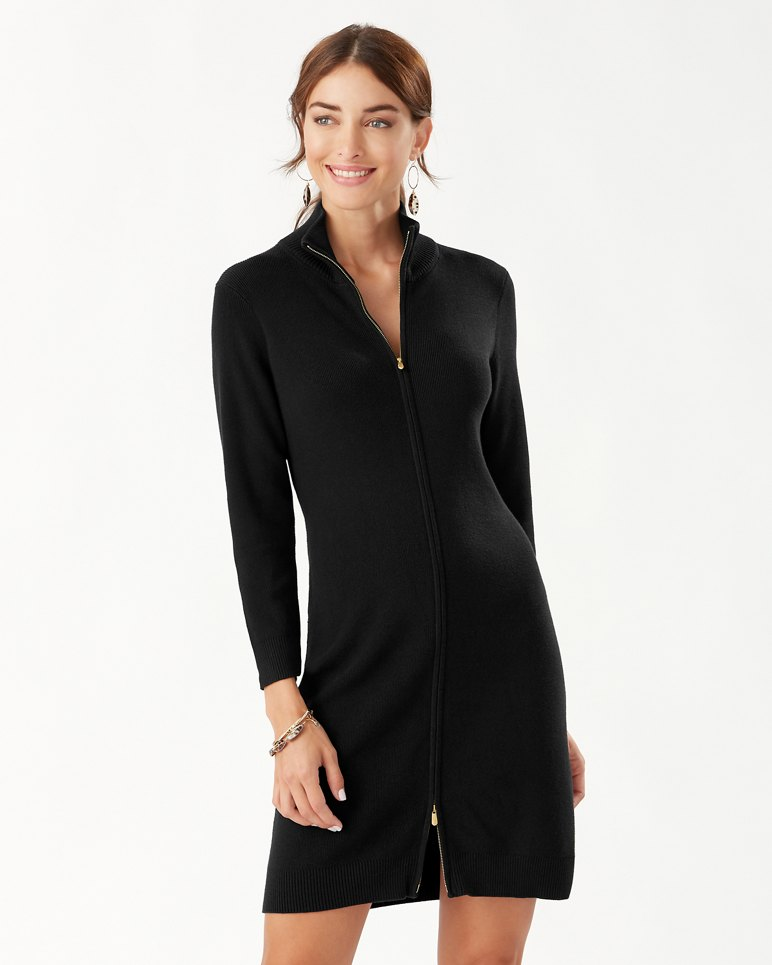 Main Image for Pickford Rib Full-Zip Dress