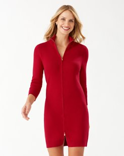 Pickford Rib Full-Zip Dress
