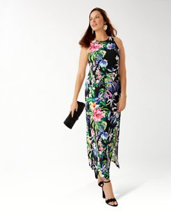 Hermosa Flora Maxi Dress