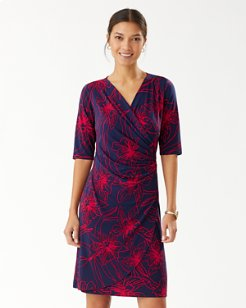 Vista Blooms Wrap Dress