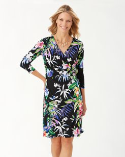 Hermosa Flora Wrap Dress