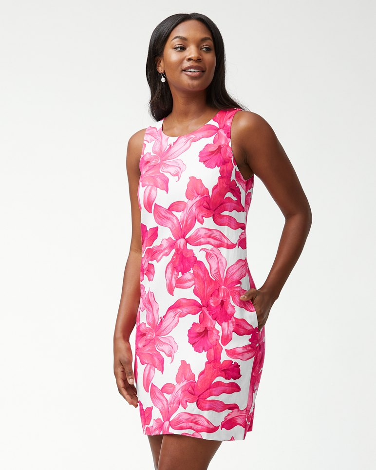 Main Image for Orchid Rua Linen-Blend Shift Dress