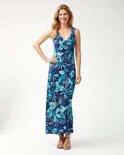 Cabana Colores Tambour Maxi Dress