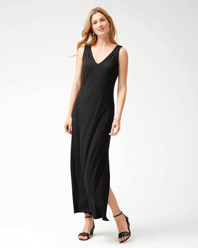 Main Image for Tambour Sleeveless Maxi Dress