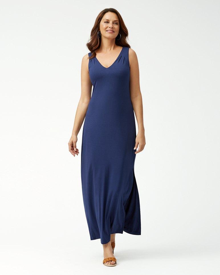 Main Image for Tambour Sleeveless Maxi Dress