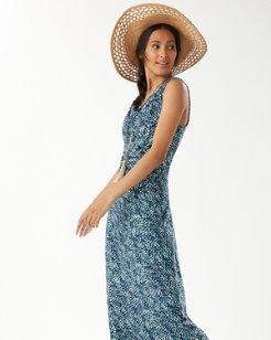 Sonoran Mist Tambour Maxi Dress