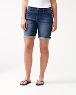 Tema Denim 10-Inch Bermuda Shorts