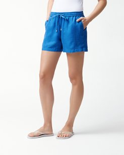 Two Palms Linen 5-Inch Easy Shorts