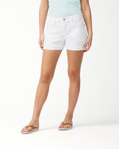 Ana Twill 4-Inch Utility Shorts