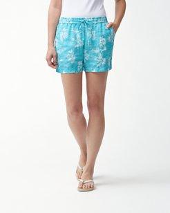 La Isla Bahama Linen 5-Inch Easy Shorts