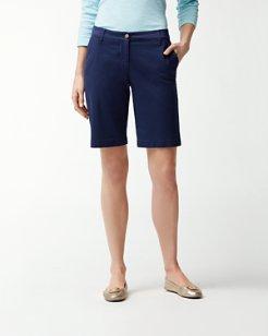 Twill 10-Inch Bermuda Shorts
