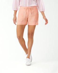 Palmbray 5-Inch Linen Shorts