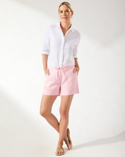 Palmbray 5-Inch Linen Shorts
