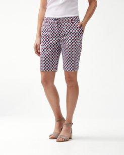Gia Geo Boracay 10-Inch Bermuda Shorts