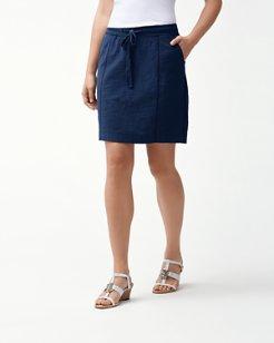 Knoll Seamed Skirt