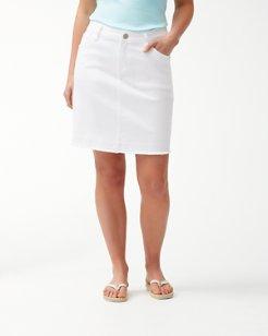 Ana Twill Denim Skirt