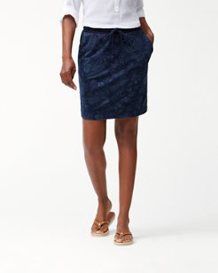 Indi-Flora Knit Skirt