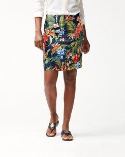 Bonita Botanical Linen Skirt