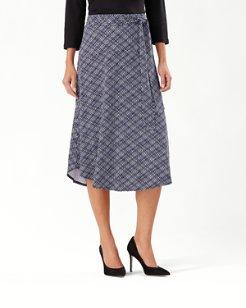 Geo Grande Tambour Midi Skirt