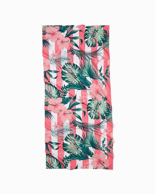 Heavenly Hibiscus Quick Dry Beach Towel