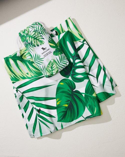 Palm Dreams Quick Dry Beach Towel