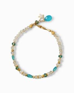 Pavé Starfish Apatite Bracelet