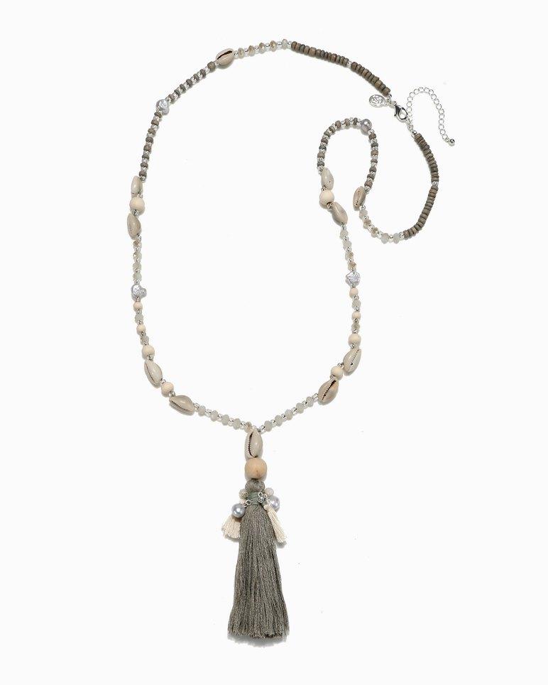 Main Image for Shell Vista Tassel Necklace