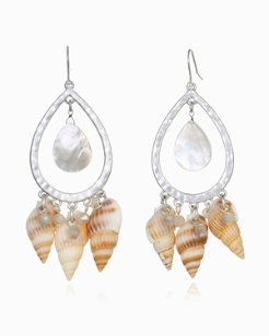 Warm Sands Shell Earrings