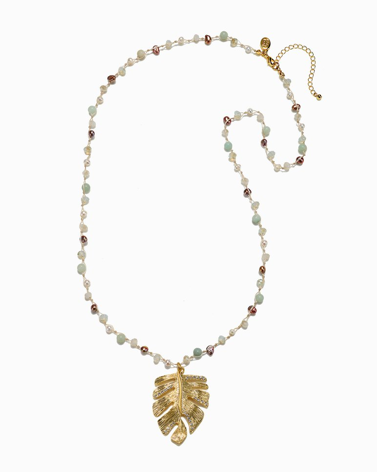 Main Image for Mineral Springs Monstera Necklace