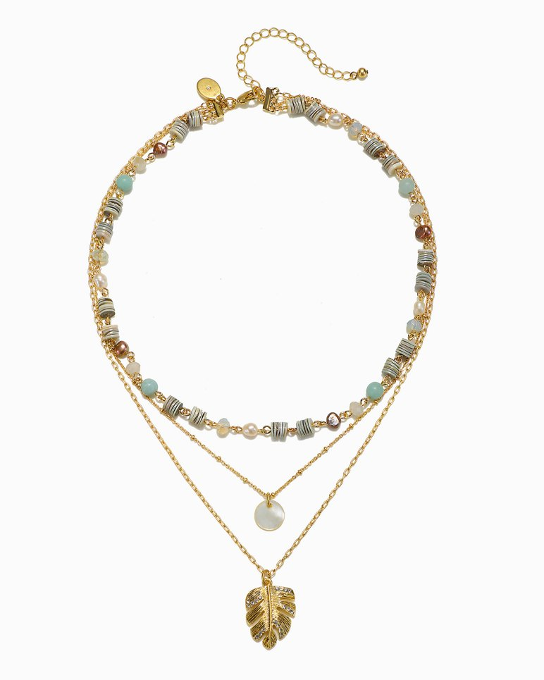 Main Image for Mineral Springs Triple-Strand Necklace