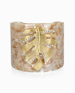 Mineral Springs Monstera Cuff