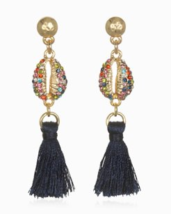 Rainbow Mirage Tassel Earrings