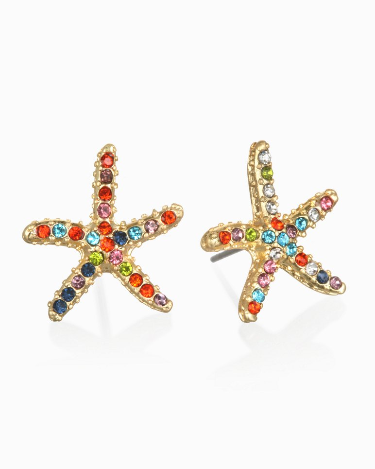 Main Image for Sparkle Starfish Earrings