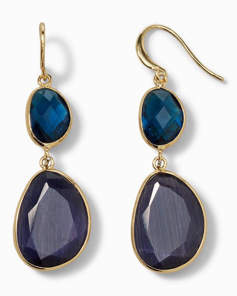 Main Image for Two-Tone Bezel Earrings