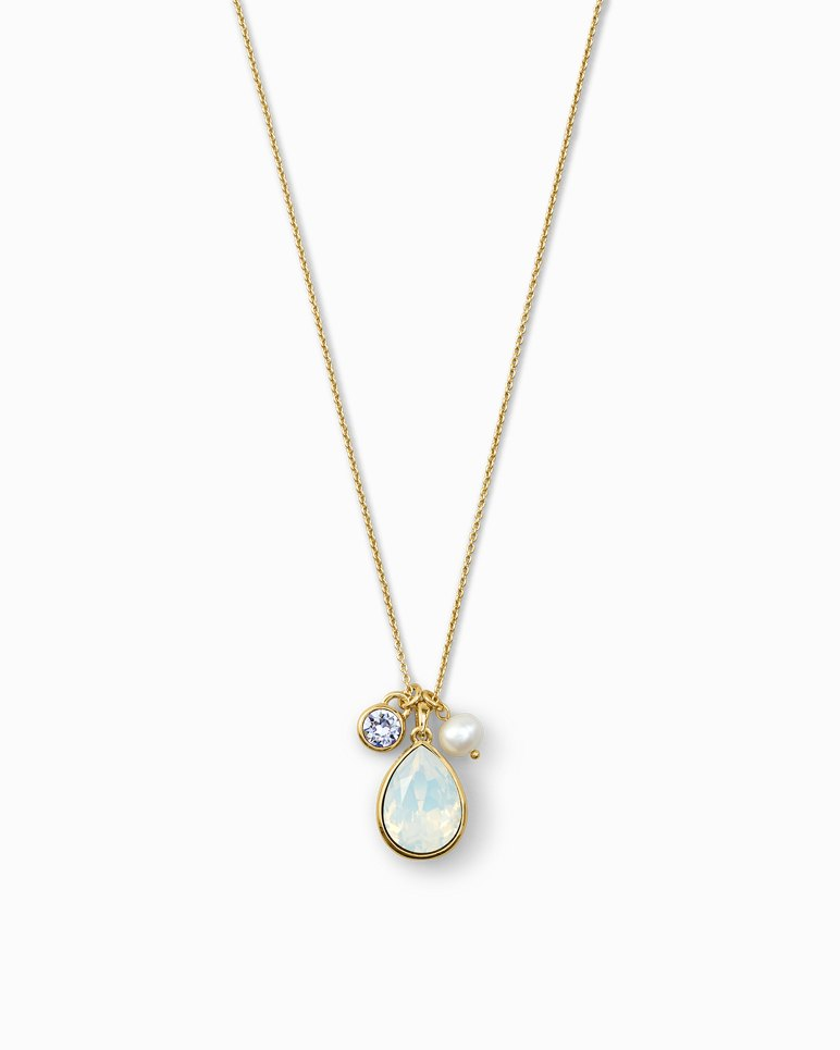 Main Image for Triple Charming Necklace With Swarovski® Crystals