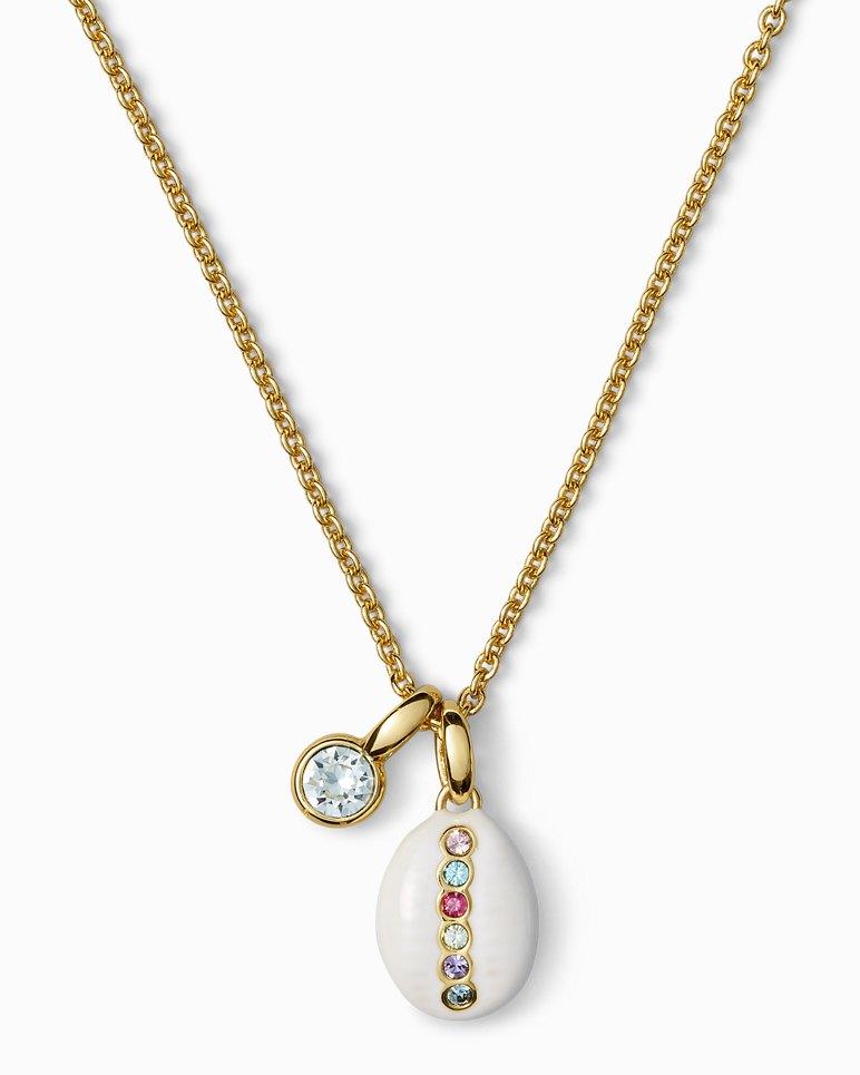 Main Image for Swarovski® Cowrie Charm Necklace