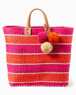 La Cinta Striped Tote