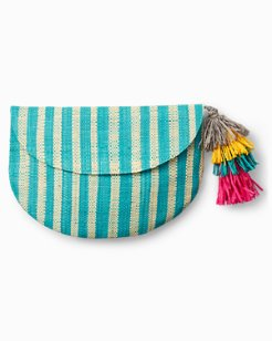 Just Your Stripe Clutch