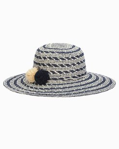 Watch the Waves Pompom Hat