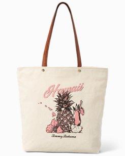 Hawaiian Pineapple Tote