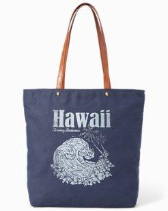 Hawaiian Wave Tote