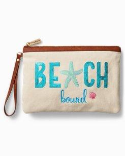 Beach Bound Bling Wristlet