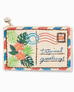 Greetings From Paradise Zip Pouch