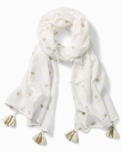 Golden Palm Scarf